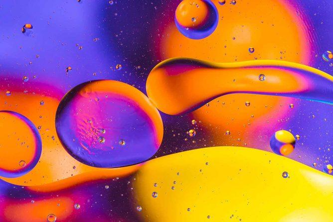 liquid droplets